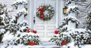 100+ Christmas Front Porch Decorating Ideas to Make your home look like Christma...