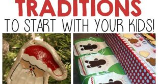 12 Christmas Traditions To Start With Your Kids! #HowWeFamily #ToysForTots #ad