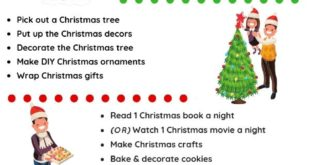 12 Memorable Christmas Tradition Ideas To Do With Your Family