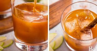 14 Festive Cocktail Recipes to Make This Thanksgiving