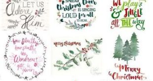 15 Free Christmas Printables (Just Busy With Life)