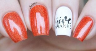 15 Thanksgiving Manicures That'll Make You Grateful for the Inspiration