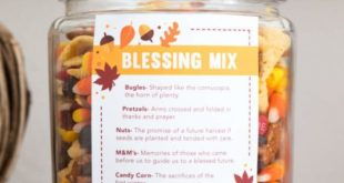Thanksgiving Gift Ideas for Teachers with Printables