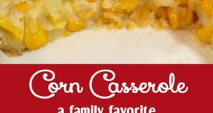 Corn Casserole for the Holidays