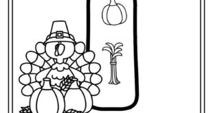 FREE  - T is for Turkey trace and color alphabet printables for Thanksgiving #pr...