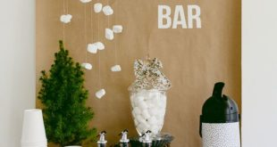 Make your own Hot Chocolate Bar with these Free Printables