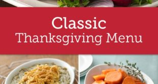 The Essential Thanksgiving Menu as Picked By You