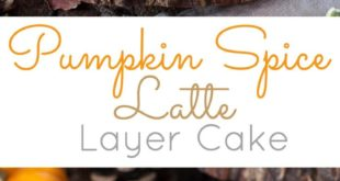 This Pumpkin Spice Latte Cake is your favorite Fall beverage in cake form! Pumpk...
